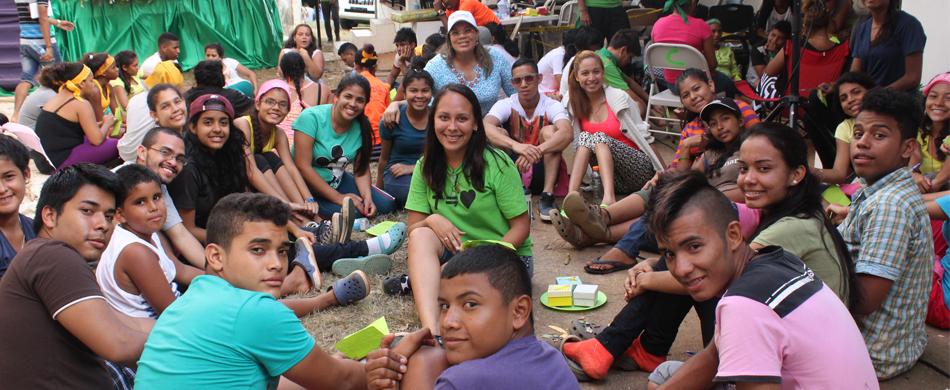 Directora compartió con adolescentes durante el domingo de Carnaval
